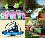 Cedar Park Junction in Pretoria East is the biggest train theme park in the East of Pretoria, we are situated 8km east of Hans Strydom intersection on Lynnwood road Zwavelpoort. The park is an outdoor 8,5hectar grassed area with beautiful views over the 2 hectares lake and at the foot of the Bronberg Mountain range. With a peaceful country feel.