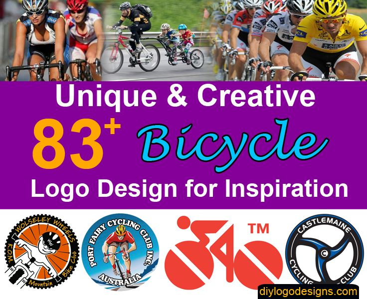 83+ Best Bicycle Logo Designs for Inspiration #logo #bicyclelogo
