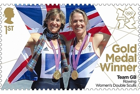 Team GB Gold Medal Winners. Rowing Women's Double Sculls