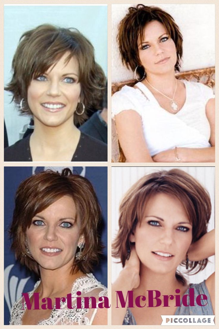 Growing out in the styles of Martina McBride.