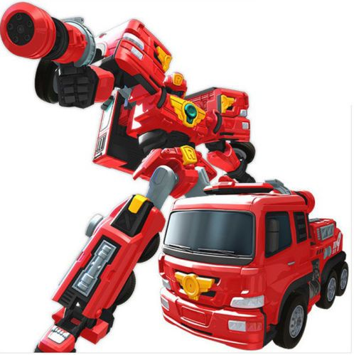 TOBOT R Transformer Fire engine Robot Kid Children Toys Animation Action Figure