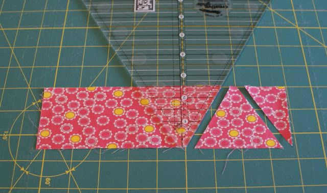 how to use a quilting square ruler