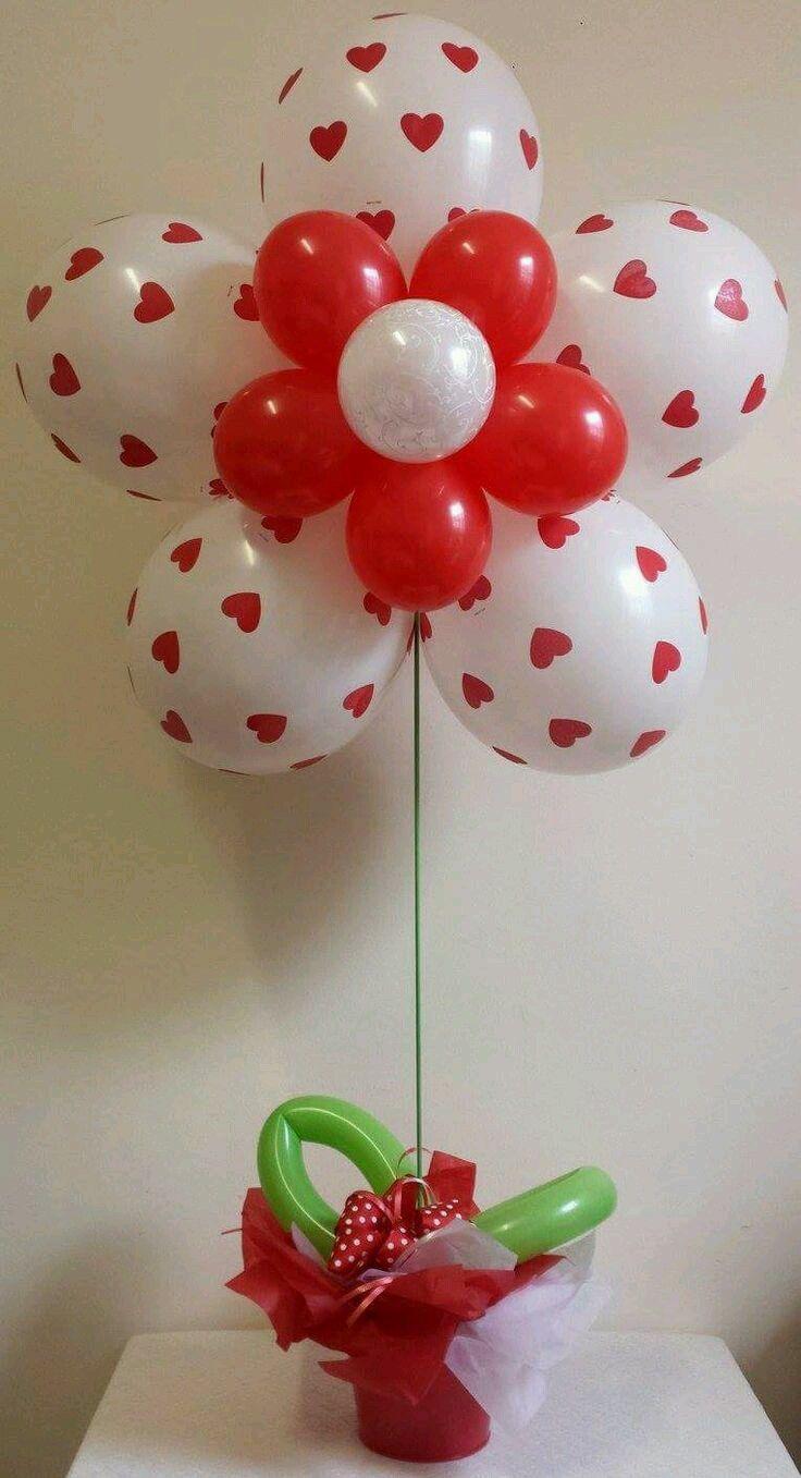 60 Cheerful Valentine S Day Balloon Decoration And Arrangement Ideas