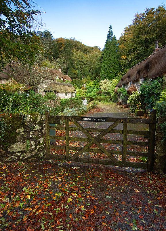 "englishcountrycottage: "" Buckland in the Moor, Dartmoor, Devon, England (Alan Howe Photography) """