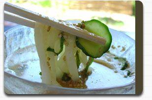 冷汁うどん(すったて)レシピ・作り方 | 埼玉名物・おいしいつゆ