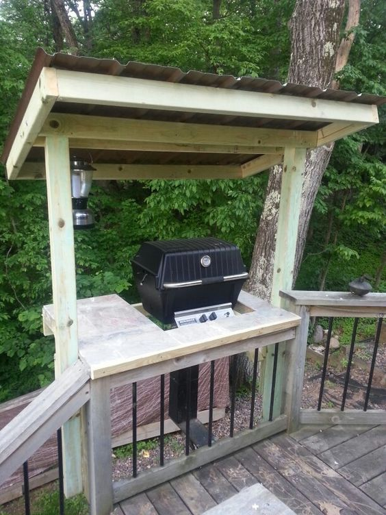 If You Are BBQ Fans Definitely Need An Outdoor Kitchen Or At Least Well Organized Grill Area Start It With A Good Gazebo Design