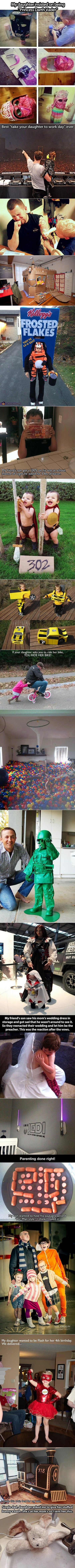 Geeky parents who are doing it right.