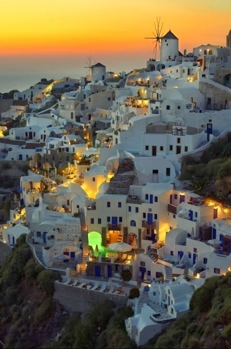 Beautiful Santorini, Greece