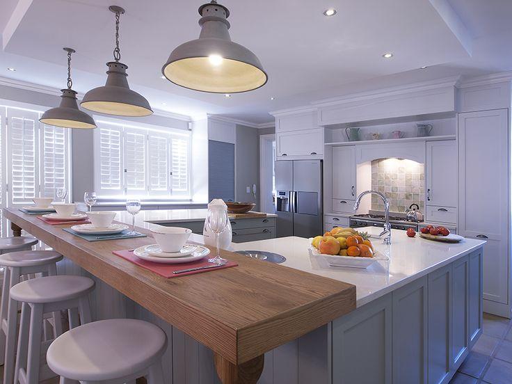This Ice Snow Caesarstone kitchen is a finalist in the Caesarstone Kitchen Designers 2013 competition. www.caesarstone.co.za