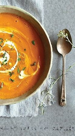 Curried Carrot Soup Recipe | Vitamix Recipes | Learn how to make soup in your blender