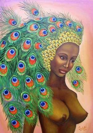 diosa de ébano.