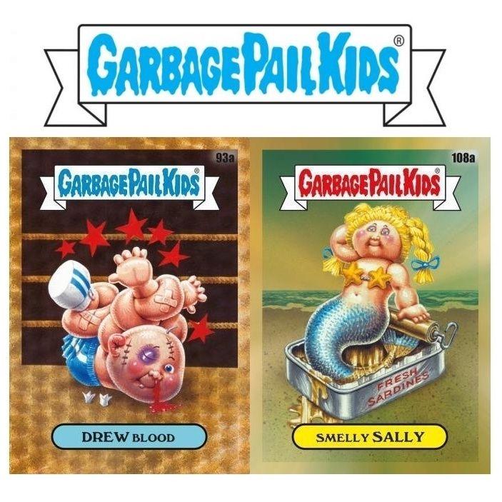 2020 Topps Garbage Pail Kids Chrome Checklist Original Series 3 Details Garbage Pail Kids Garbage Pail Kids Cards Kids Cards
