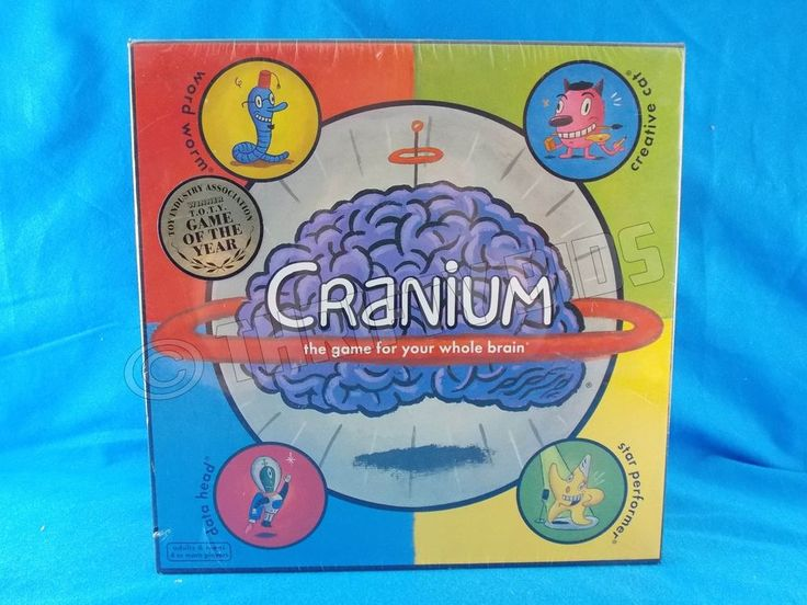 Cranium Board Game Family or Party For your whole Brain Game 2002 NEW #Cranium