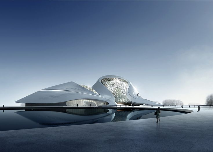 Harbin Cultural Centre by MAD