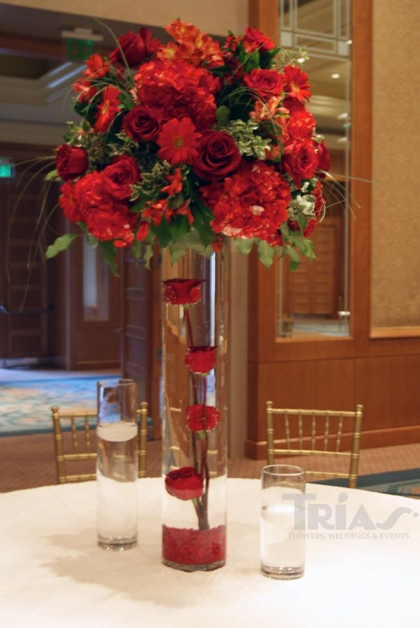 high centerpieces triasflowers weddings events flowers elegant miami. Black Bedroom Furniture Sets. Home Design Ideas