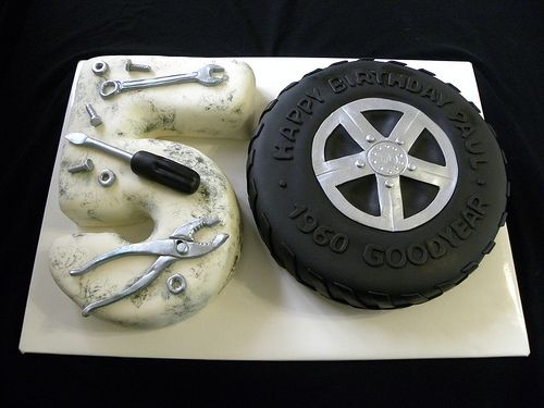Mechanic Birthday Cake Birthday Party Ideas Pinterest