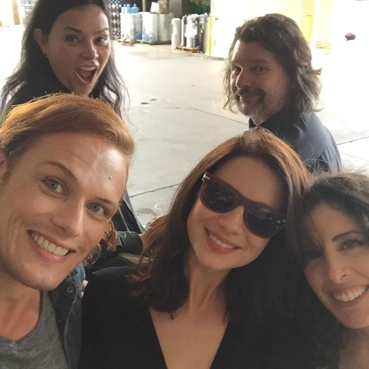 On behalf of the #Outlander gang I want to thank the awesome Starz and Sony folks for herding us cats this weekend