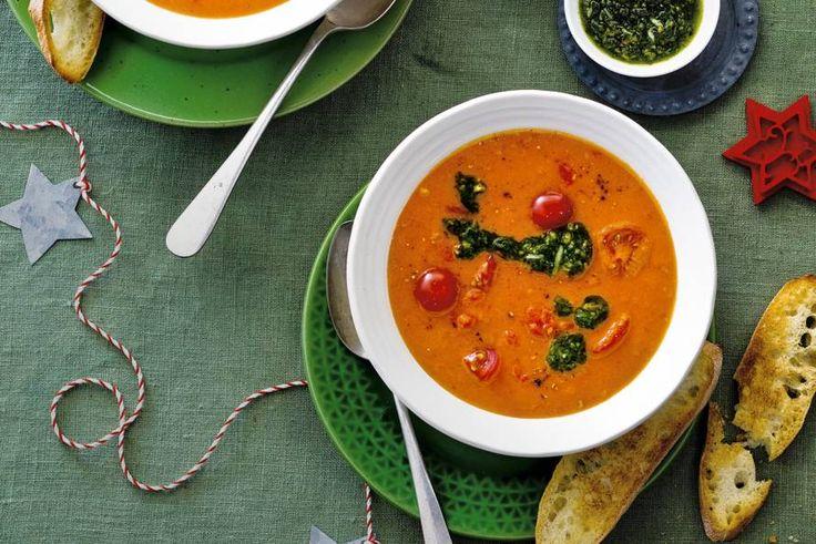 Tomaten-crèmesoep - Recept - Allerhande