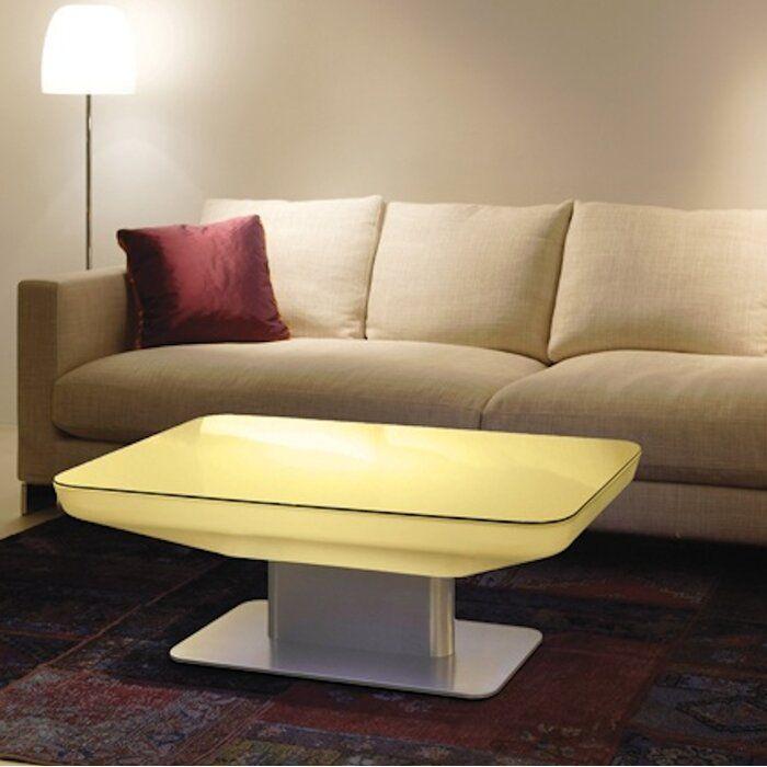 Orren Ellis Sydni Led Plastic Coffee Table Wayfair Coffee Table Cool Coffee Tables Coffee Table Wayfair