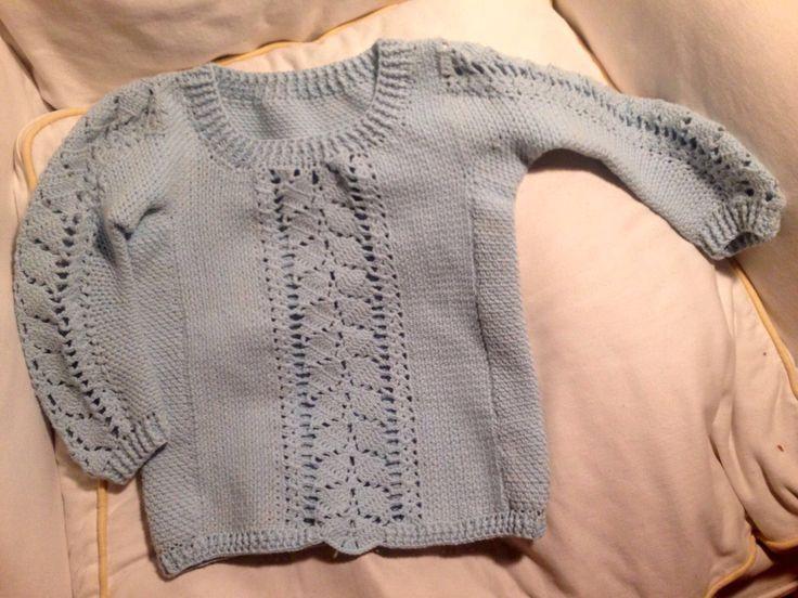 Crochet girl sweater