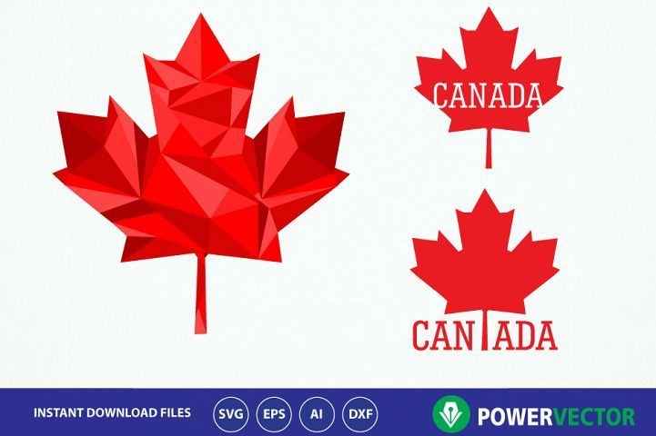 Canada Maple Leaf Svg Iron On Design Maple Leaf Svg Canadian Maple Leaf Clipart Vector Maple Leaf Png Eps Ai Files Low Poly Design Maple Leaf 82929 Il Maple Leaf