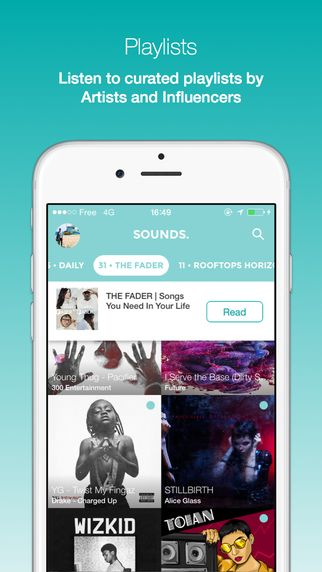 Sounds app - Music for Instagram & Snapchat by Sounds
