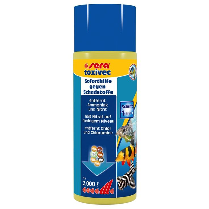 Animalerie  Conditionneur deau sera toxivec  500 mL