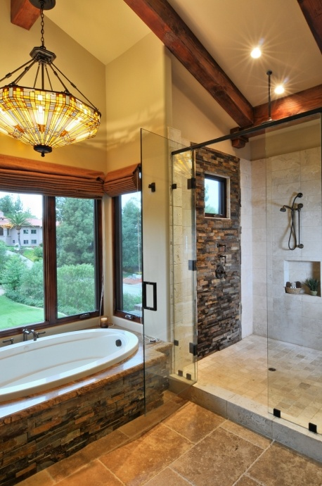 Beautiful Master Bathrooms Exterior 18 best lodge master baths images on pinterest | architecture