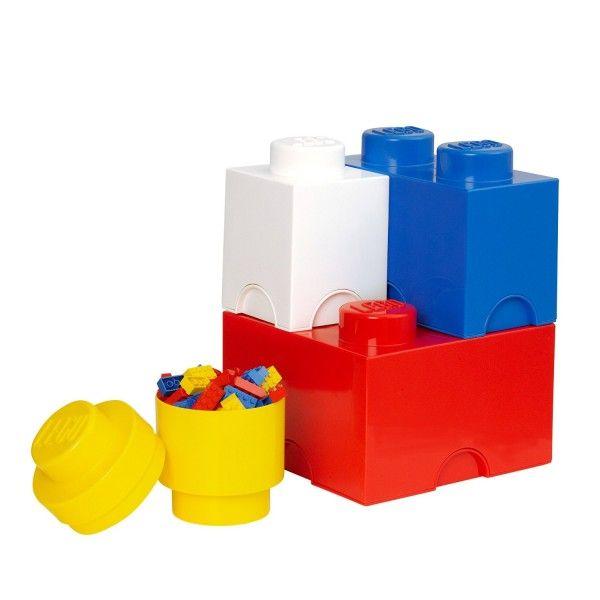 Boîtes de rangement LEGO  http://www.homelisty.com/rangement-lego/