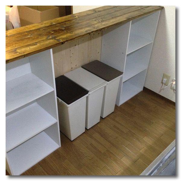 カラーボックスでキッチンカウンターを。作り方やアイディア集まとめ   iemo[イエモ]