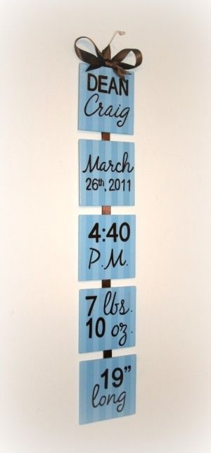 DIY Wall Hanging For Baby's Room « @ DIY Home Cuteness