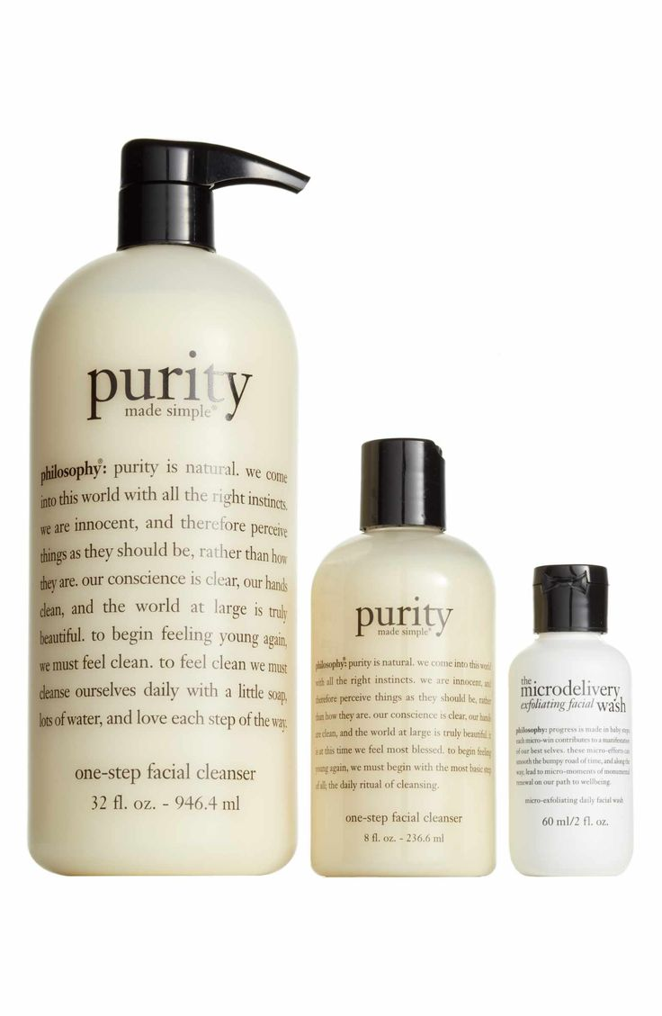 Main Image - philosophy purity made simple cleanse & smooth trio ($87 Value)