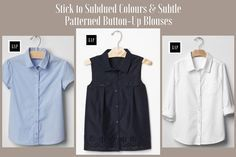 DO: Subdued coloured button-up blouses with subtle patterns are appropriate funeral attire for girls. #loveliveson                                                                                                                                                                                 More