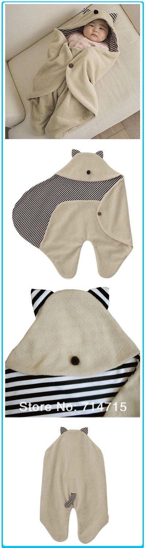 Милый парень Младенец детское одеяло Пеленальный спальный мешок Wrap Нью-в пижамы и шкафы от одежды и аксессуаров на Aliexpress.com