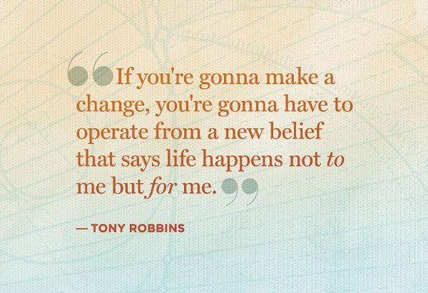Tony Robbins quote From http://foudak.com/anthony-robbins/