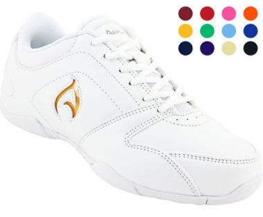 Kid's Axeus Ignite Cheerleading Shoe. Great for tumbling and stunting when cheering in both indoors and outdoors.