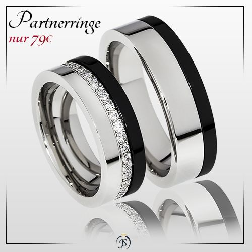 Partnerringe mit stein  21 besten Ringe Bilder auf Pinterest | Eheringe, Gravur und Edelstahl