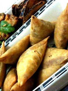 Samosas, Meat and Recipe on Pinterest