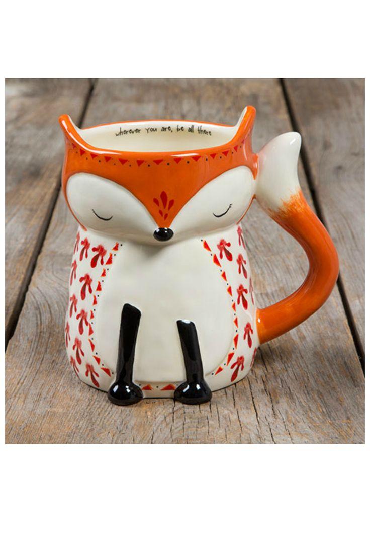 Natural Life Folk Mug - Fox