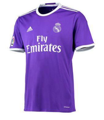 Equipacion Camiseta Real Madrid Segunda 2016-2017   http://www.baratafutbol.com/equipacion-camiseta-real-madrid-segunda-20162017-p-1700.html
