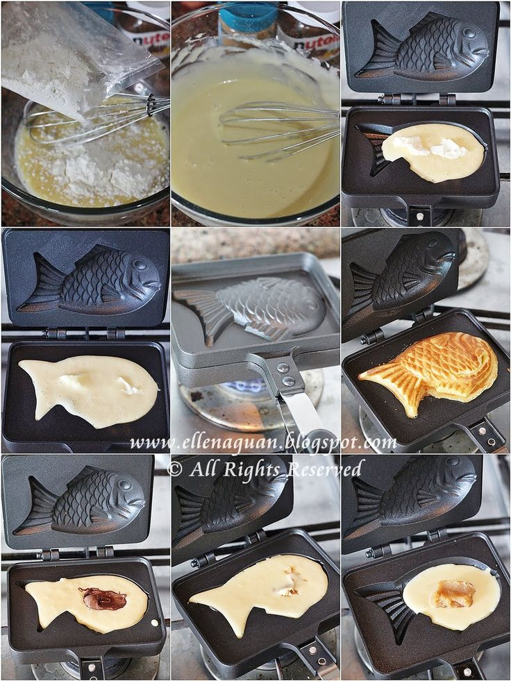 must buy a taiyaki pan!
