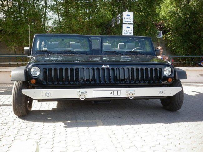 """Jeeps in Dubai can also """"King Size"""""""