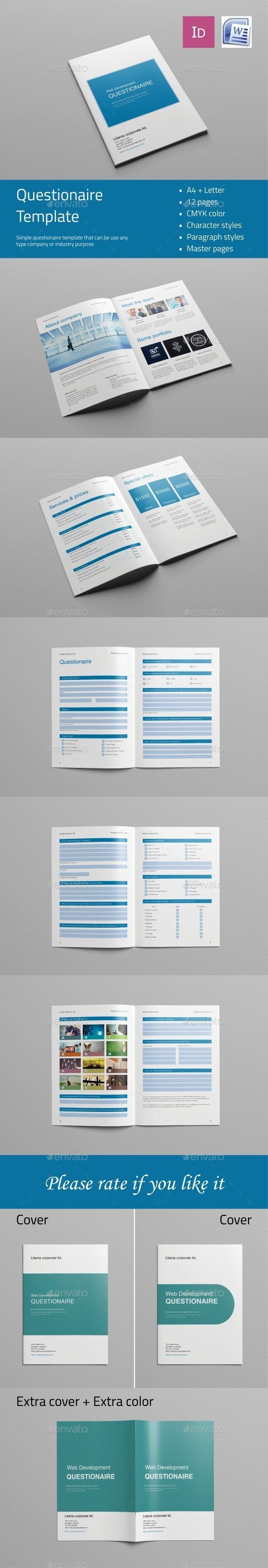 19 best Anketa images on Pinterest | Questionnaire design, Briefs ...