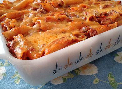 Penne pasta casserole with italian sausage: Cheap Meals, Casseroles Folder, Cheap Food, Pasta Dishes, Italian Sausages, Penn Pasta, Cheap Eating, Cheap Casseroles, Cheap Recipes