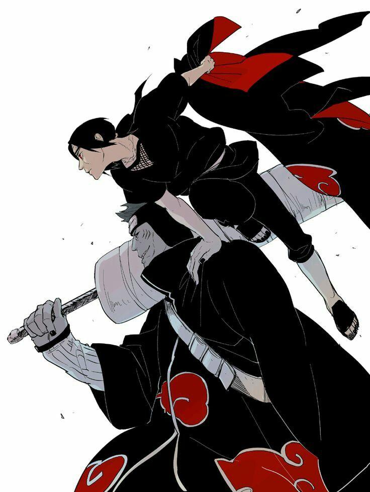 Kisame and Itachi Akatsuki Naruto World Pinterest