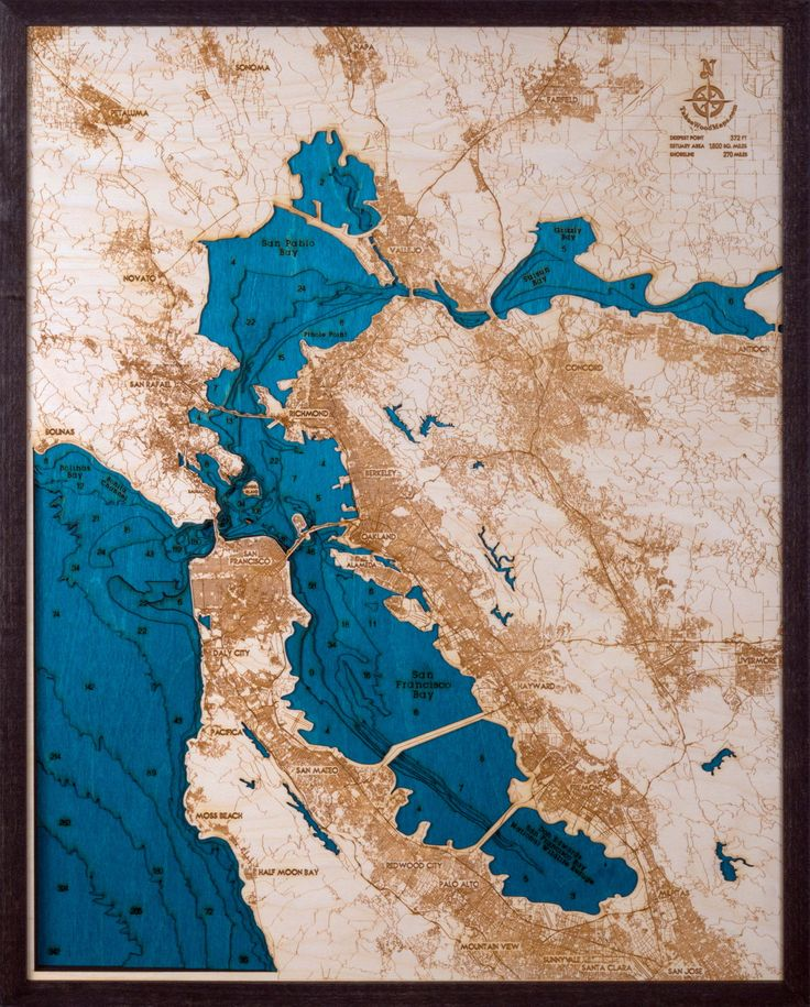 Introducing our new Large San Francisco Bay