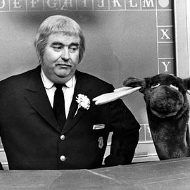 Captain Kangaroo, saw him on a wharf from Boston Science building on a field trip from school...thrilling!