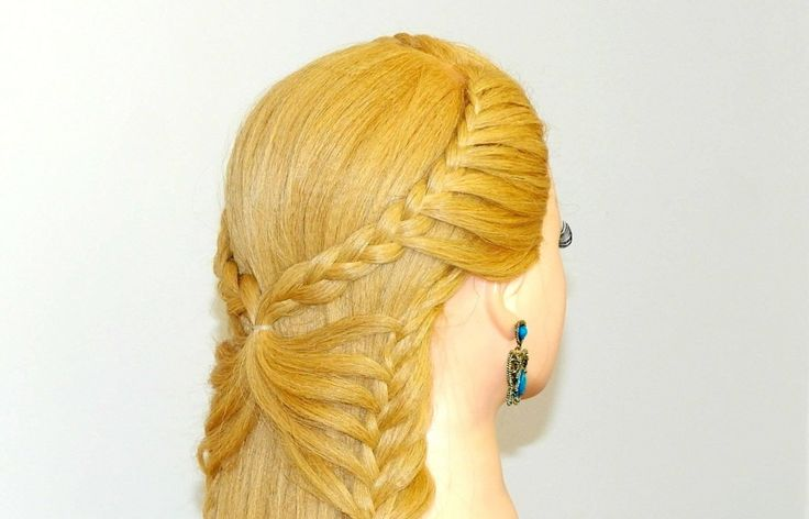 Trend Hairstylel Stunning Beautiful butterfly hairstyle for Long Hair | (Step By Step),  You can be amazed to see that how the butterfly that flies within the air is hooked up to the again of your head. Yes, the identical butterfly tha...