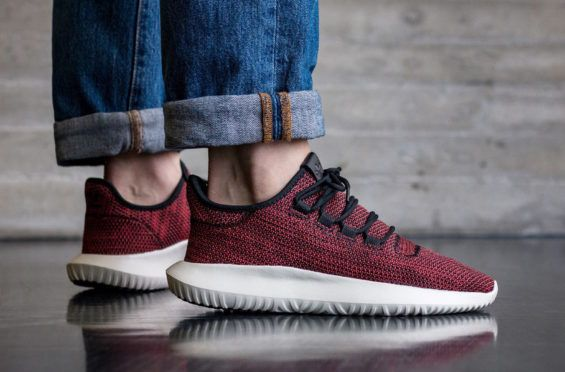 check out 48955 6881b adidas Tubular Shadow Trace Scarlet Perfect For The Holidays ...