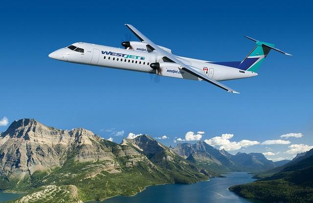 Canadian Airline WestJet selects Bombardier Q400 NextGen Airliner
